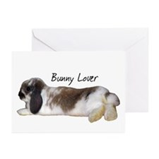 """Bunny Lover 1"" Greeting Cards (Pk of 10)"