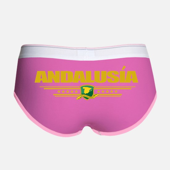 Andalusia (Flag 10) pocket Women's Boy Brief