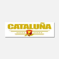 Cataluna (Flag 10) pocket Car Magnet 10 x 3
