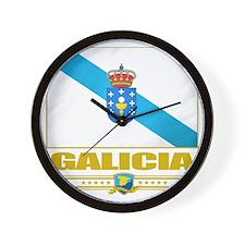 Galicia (Flag 10) Wall Clock