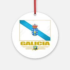 Galicia (Flag 10) Round Ornament