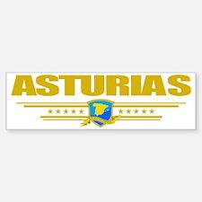 Asturias (Flag 10) pocket Sticker (Bumper)