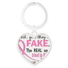 - Fake Heart Keychain