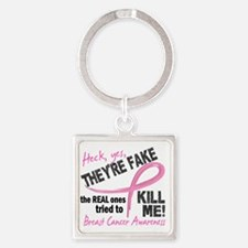 - Fake Square Keychain