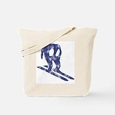 Worn Horace Skiing Tote Bag