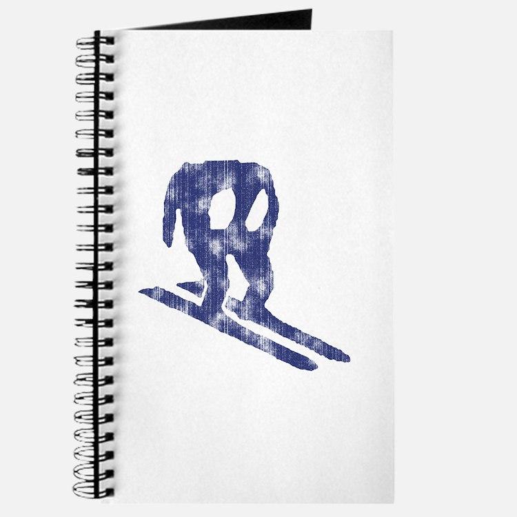 Worn Horace Skiing Journal