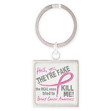 - Fake Square Keychain