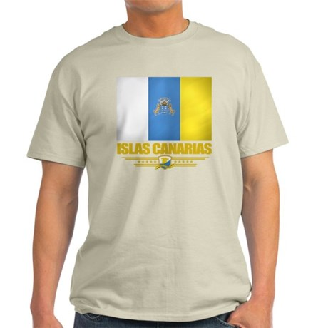Islas Canarias (Flag 10) Light T-Shirt