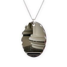 23x35_strength Necklace Oval Charm