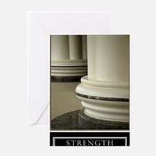 23x35_strength Greeting Card
