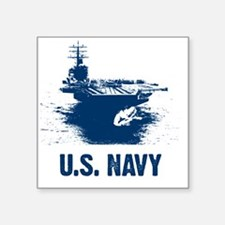 "aircraftcarrier Square Sticker 3"" x 3"""