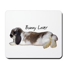 """Bunny Lover 1"" Mousepad"