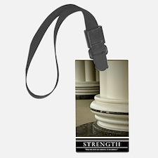 16x20_strength Luggage Tag