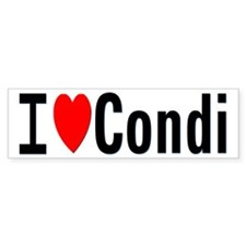 I Heart Dr. Condoleezza Rice Bumper Bumper Sticker