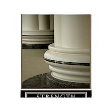 16x20_strength Throw Blanket