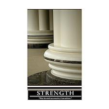 16x20_strength Stickers