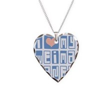 I-Love-My-Weimaraner-Box-Font Necklace