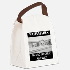 watts station copy Canvas Lunch Bag
