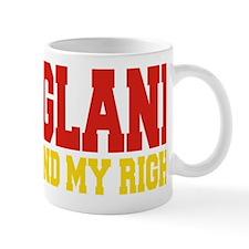 England (God And My Right) Mug