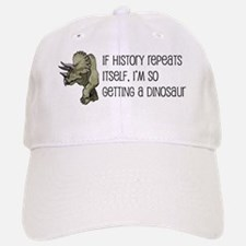 dinosaur history Baseball Baseball Cap
