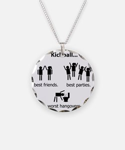 bigvomit Necklace Circle Charm