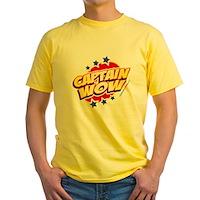 Captain Wow Yellow T-Shirt