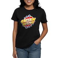 Captain Wow Women's Dark T-Shirt