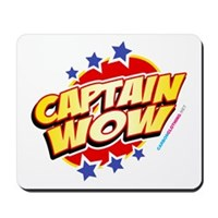 Captain Wow Mousepad