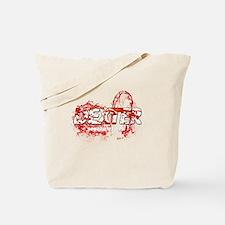 Dexter Season of hell Bloody Splash Tote Bag