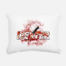 Dexter theres hell to pa Rectangular Canvas Pillow