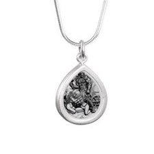 PNG Cafe Print THOR WITH Silver Teardrop Necklace