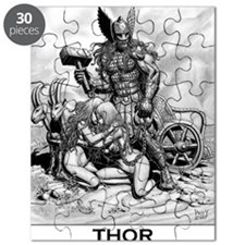 PNG Cafe Print THOR WITH THRALLS Puzzle