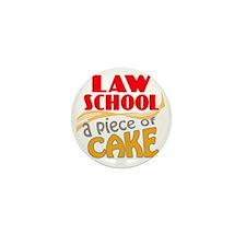 lawschool2-pieceofcake Mini Button