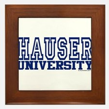 HAUSER University Framed Tile