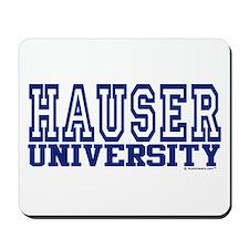 HAUSER University Mousepad