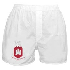 113th Army Engineer Battalion Militar Boxer Shorts