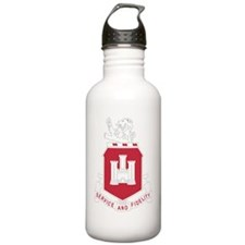 113th Army Engineer Ba Water Bottle