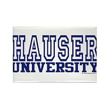 HAUSER University Rectangle Magnet