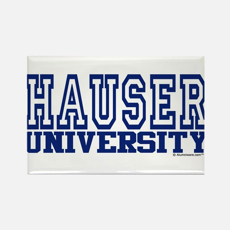 HAUSER University Rectangle Magnet