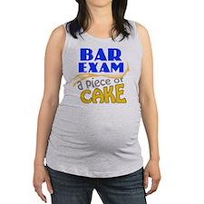 barexam-pieceofcake Maternity Tank Top