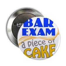 "barexam-pieceofcake 2.25"" Button"