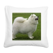 Samoyed 8T91D-02 Square Canvas Pillow