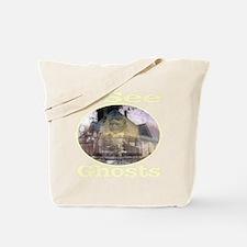 iseeghosts_transparent Tote Bag