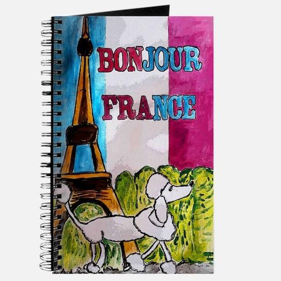bonjour card Journal