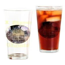 iseeghosts_transparent Drinking Glass
