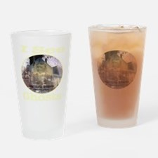 iseeghosts_transparent Drinking Glass