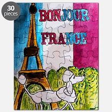bonjour card Puzzle