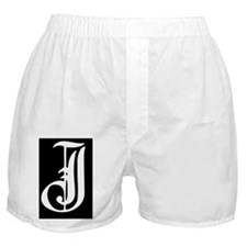 Gothic Initial J Boxer Shorts