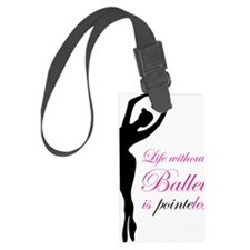 ballet2 Luggage Tag