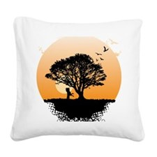 romance_tree Square Canvas Pillow